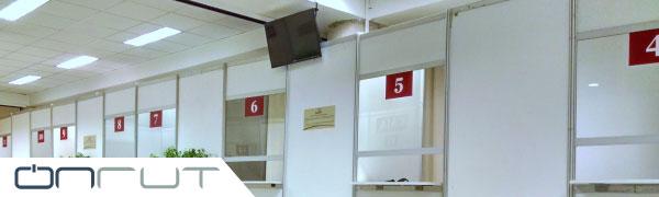 Direccionador de cajas, colas o filas Onrut - Productos